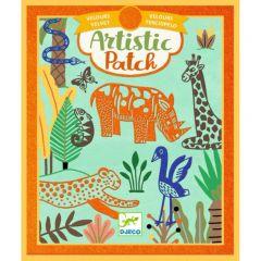 Djeco Artistic Patch velvet Wildernis 6-10 jaar