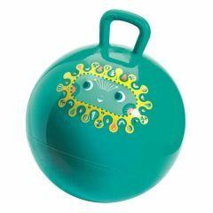 Springbal groen met handvat Diego 45 cm
