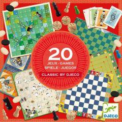 Djeco verzameldoos 20 klassieke spellen 6+