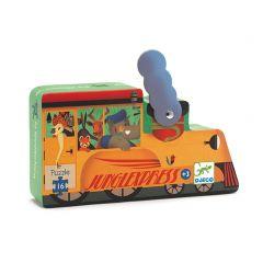 Djeco puzzel Locomotief 3+ 16 stuks