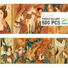 Djeco puzzel Gallery Unicorn Garden 8+ 500 stuks