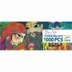 Djeco puzzel Gallery Magic India 9+ 1000 stuks