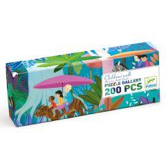 Djeco puzzel Gallery Children's walk 6+ 200 stuks