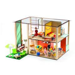 Poppenhuis Cubic/strak (leeg)