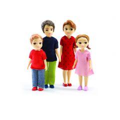 De familie Thomas & Marion voor poppenhuis