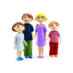 De familie Gaspard & Romy voor poppenhuis