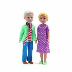 Grootouders voor poppenhuis