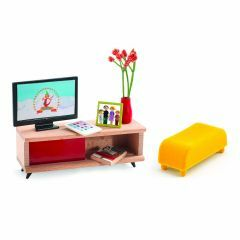 TV-kamer voor poppenhuis