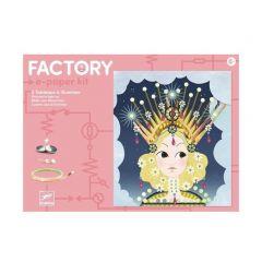Djeco Factory e-paper kit Tiaras 8+