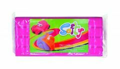 Plasticine softy 500 g roze