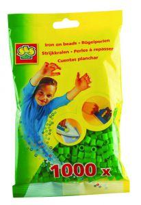 Ses strijkkralen 1000 stuks groen