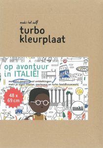 Turbo kleurplaat Italië