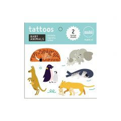 Makii tattoo's babydieren