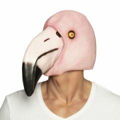 Masker latex flamingo