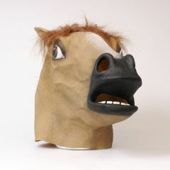 Masker latex paard