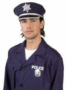Politiepet blauw