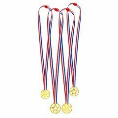 Medailles winner 4 stuks