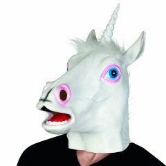 Masker latex eenhoorn