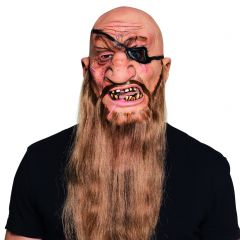 Masker latex piraat