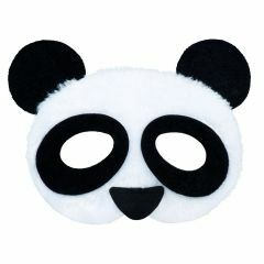 Pluchen masker panda