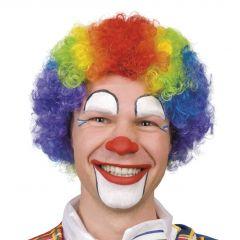 Pruik regenboog clown (JT18)