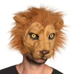 Pluchemasker leeuw