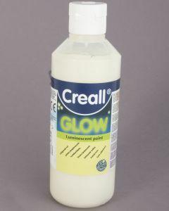 Creall Glow 250 ml lichtgevende verf wit