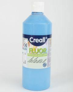Creall fluorverf 500 ml blauw