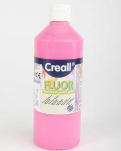 Creall fluorverf 500 ml roze