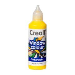 Creall Window Colour 80 ml citroengeel
