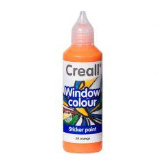 Creall Window Colour 80 ml oranje