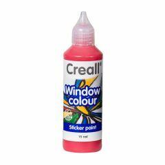 Creall Window Colour 80 ml rood