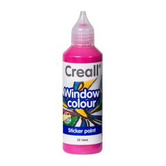 Creall Window Colour 80 ml roze