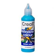 Creall Window Colour 80 ml turkoois