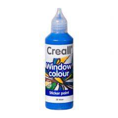 Creall Window Colour 80 ml blauw
