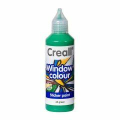 Creall Window Colour 80 ml groen