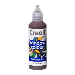 Creall Window Colour 80 ml bruin