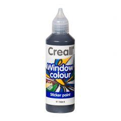 Creall Window Colour 80 ml zwart