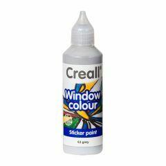 Creall Window Colour 80 ml grijs