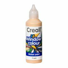 Creall Window Colour 80 ml goud