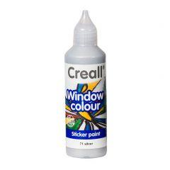 Creall Window Colour 80 ml zilver
