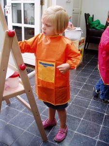 Creall verfschort oranje 0-4 jaar