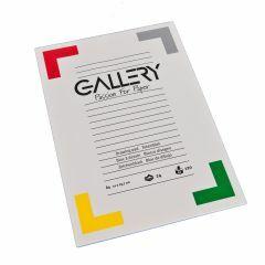 Gallery tekenblok A4 21 x 29,7 cm 120 g 24 vellen wit