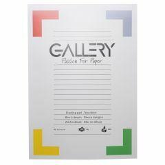 Gallery tekenblok A3 29,7 x 42 cm 120 g 24 vellen wit