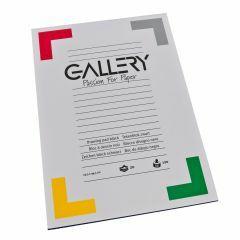 Gallery tekenblok 24,5 x 34,5 cm 120 g 20 vellen zwart