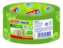 Tape Eco groen 50 mm breed 66 m