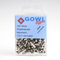 Splitpen 18 mm 100 stuks zilverkleurig