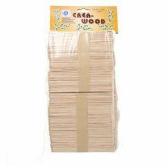 Houten spatels/friscostokjes 1000 stuks naturel