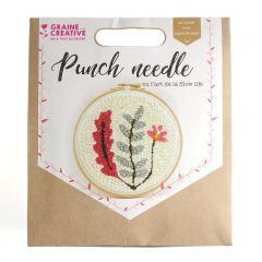 Punchneedle set botanisch