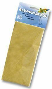 Zijdepapier 50 x 70 cm 5 stuks goud
